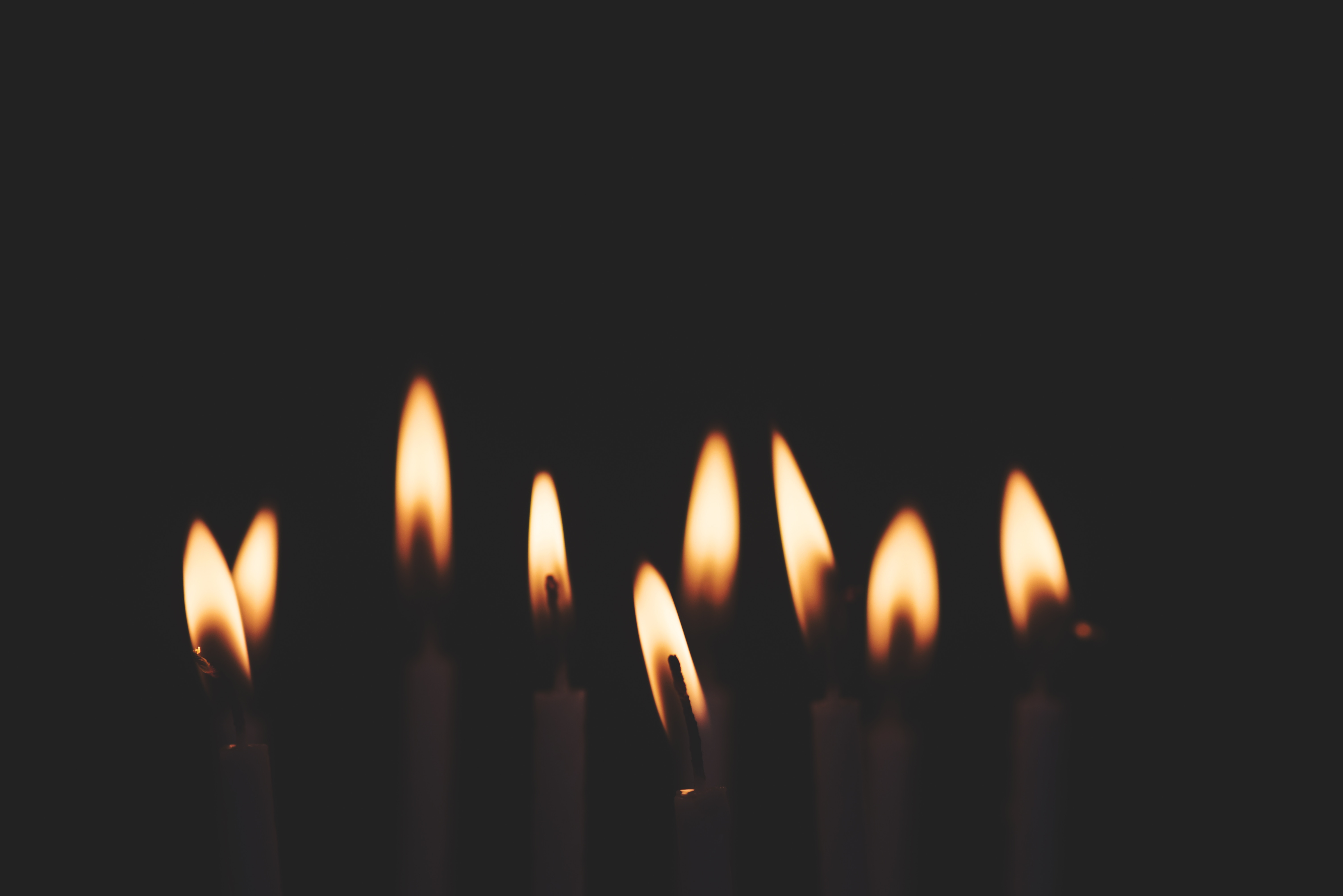 Crow's feet and candles…
